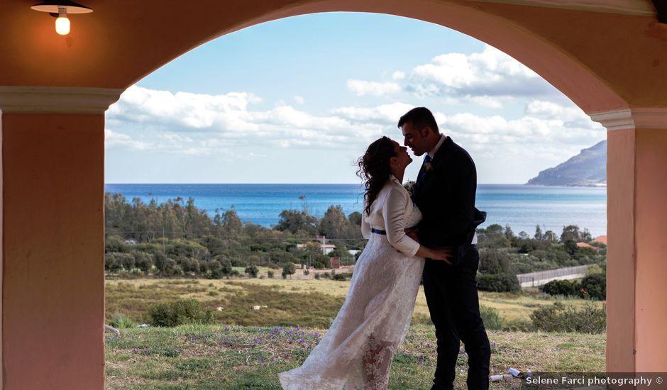 Il matrimonio di Stefano e Elisabetta a Tertenia, Nuoro