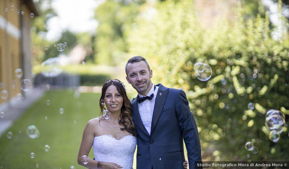 Il matrimonio di Simone e Arianna a Zevio, Verona