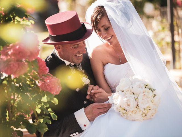 le nozze di Martina e Simone