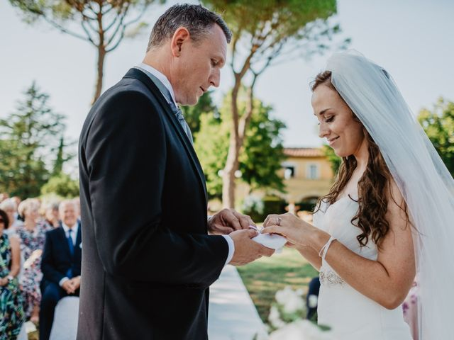 Il matrimonio di Wiktor e Gjertrud a Campagnatico, Grosseto 36