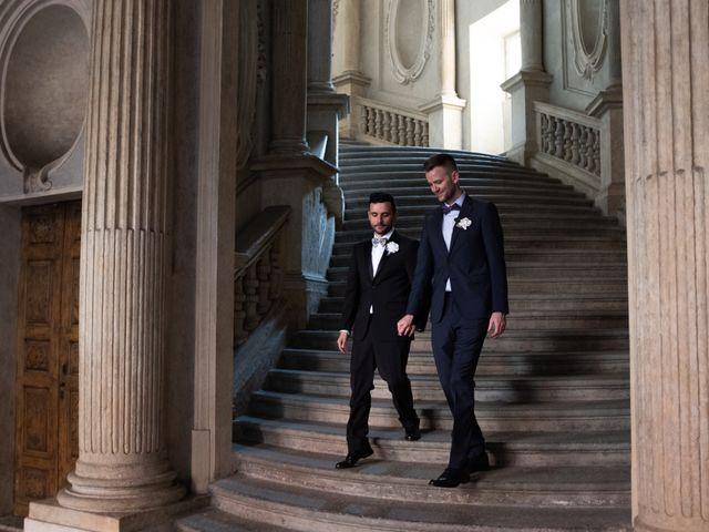 Il matrimonio di Savino e Winston a Torino, Torino 27