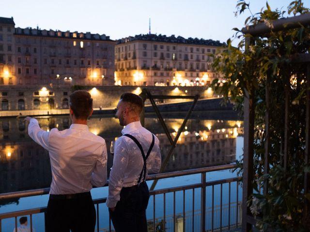 Il matrimonio di Savino e Winston a Torino, Torino 42