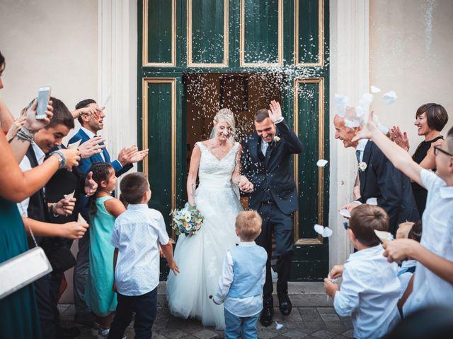 Il matrimonio di Valerio e Isabella a Civitavecchia, Roma 18