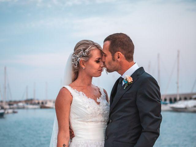 Il matrimonio di Valerio e Isabella a Civitavecchia, Roma 46