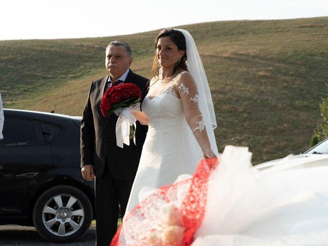 Il matrimonio di Ferdinando e Michela a Montaione, Firenze 2
