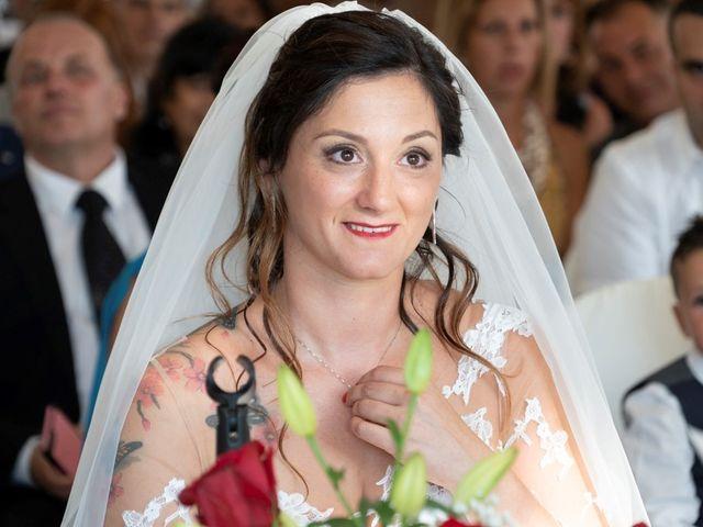 Il matrimonio di Ferdinando e Michela a Montaione, Firenze 5