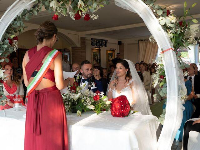 Il matrimonio di Ferdinando e Michela a Montaione, Firenze 7