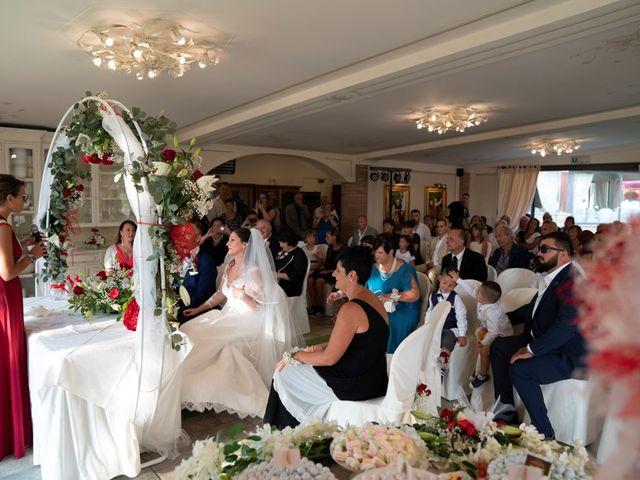 Il matrimonio di Ferdinando e Michela a Montaione, Firenze 100
