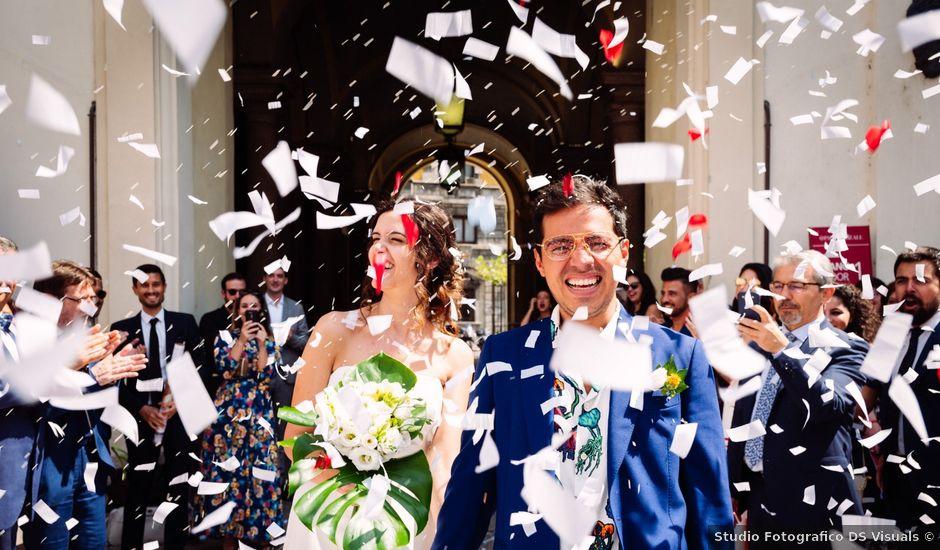 Il matrimonio di Lewis e Giovanna a Milano, Milano