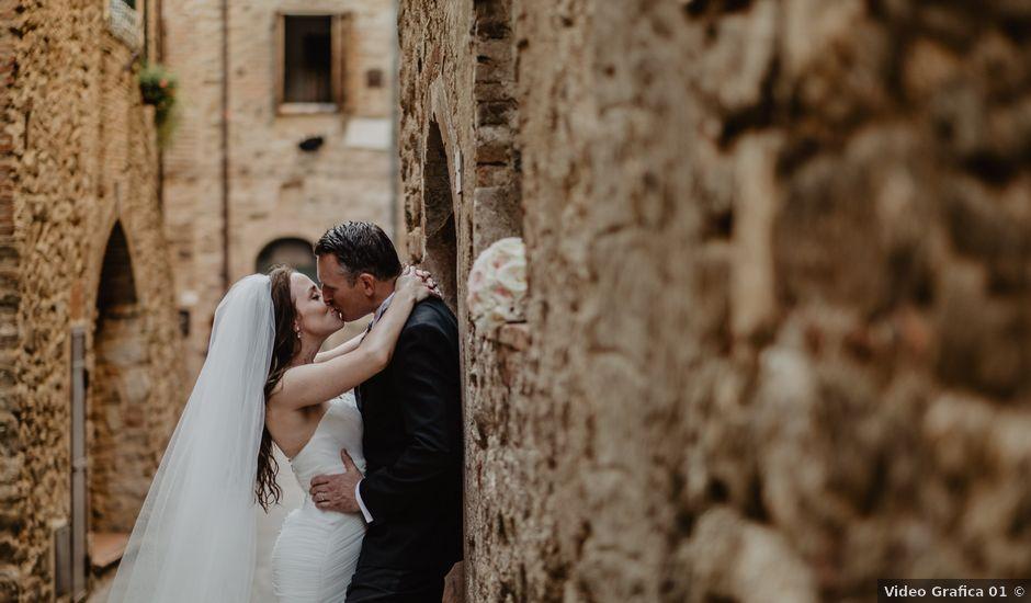 Il matrimonio di Wiktor e Gjertrud a Campagnatico, Grosseto
