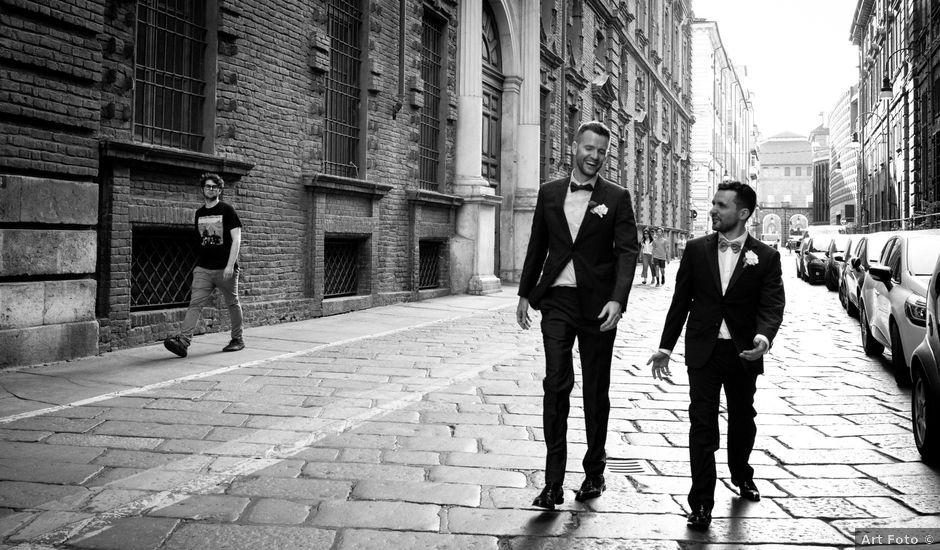 Il matrimonio di Savino e Winston a Torino, Torino