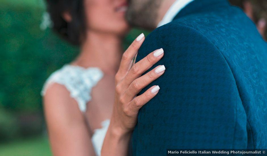 Il matrimonio di Vincenzo e Glare a Nola, Napoli