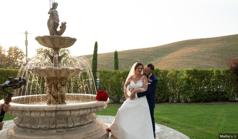 Il matrimonio di Ferdinando e Michela a Montaione, Firenze