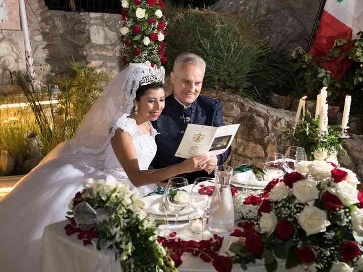 le nozze di Adelina e Andrea
