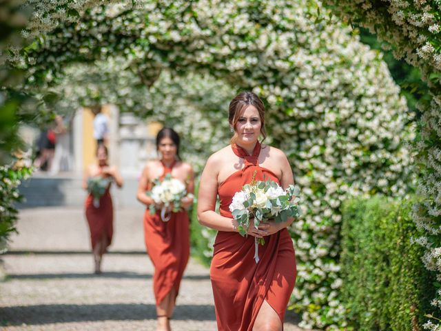 Il matrimonio di Andrea e Cassie a Inveruno, Milano 17