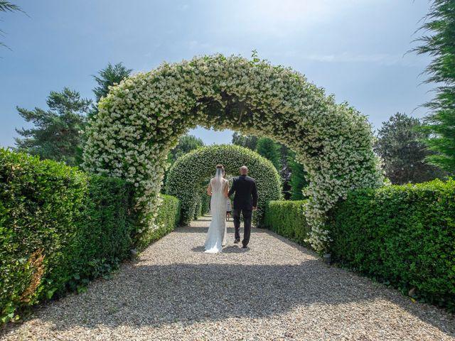 Il matrimonio di Andrea e Cassie a Inveruno, Milano 18