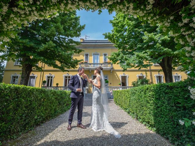 Il matrimonio di Andrea e Cassie a Inveruno, Milano 36