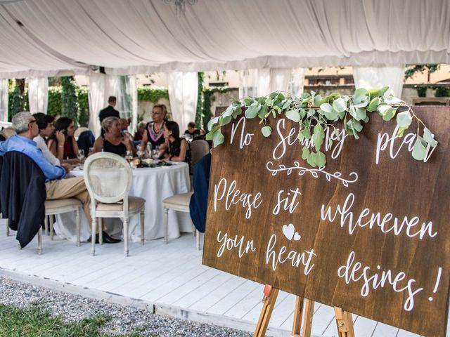 Il matrimonio di Andrea e Cassie a Inveruno, Milano 45