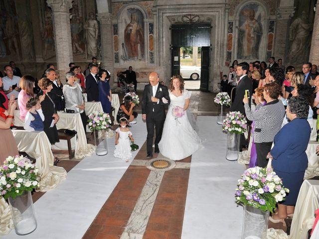 Il matrimonio di Ruggero e Roberta a Roma, Roma 6