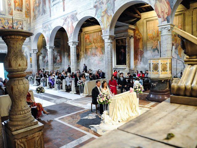 Il matrimonio di Ruggero e Roberta a Roma, Roma 12