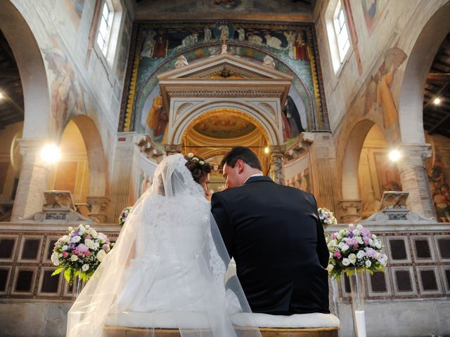 Il matrimonio di Ruggero e Roberta a Roma, Roma 16
