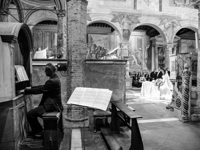 Il matrimonio di Ruggero e Roberta a Roma, Roma 17