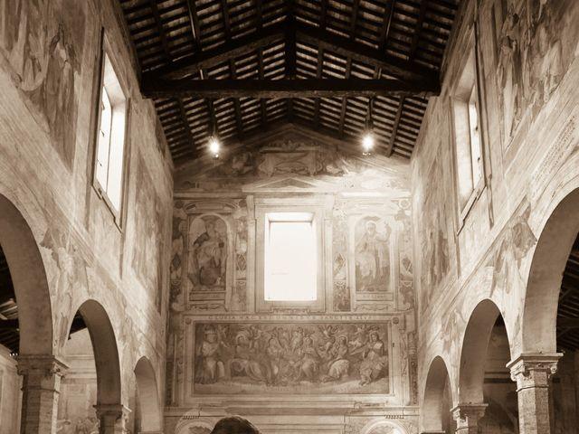 Il matrimonio di Ruggero e Roberta a Roma, Roma 18