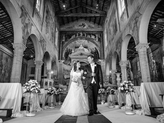 Il matrimonio di Ruggero e Roberta a Roma, Roma 19