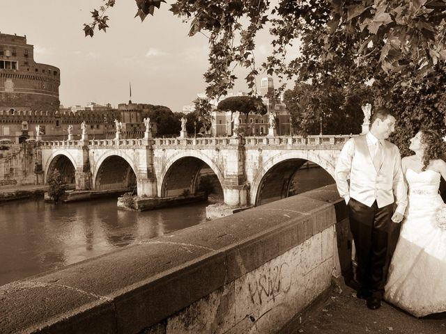 Il matrimonio di Ruggero e Roberta a Roma, Roma 22
