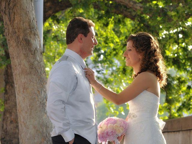 Il matrimonio di Ruggero e Roberta a Roma, Roma 23