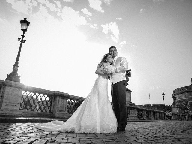 Il matrimonio di Ruggero e Roberta a Roma, Roma 27