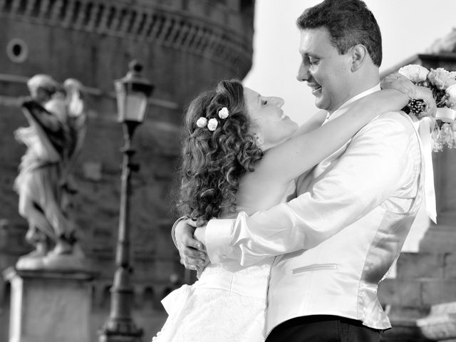Il matrimonio di Ruggero e Roberta a Roma, Roma 28