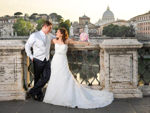 Il matrimonio di Ruggero e Roberta a Roma, Roma 29