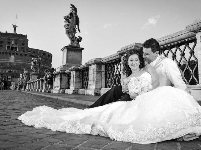 Il matrimonio di Ruggero e Roberta a Roma, Roma 30