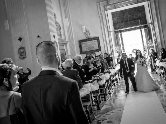 Il matrimonio di Angelo e Silvia a Castel Gandolfo, Roma 20