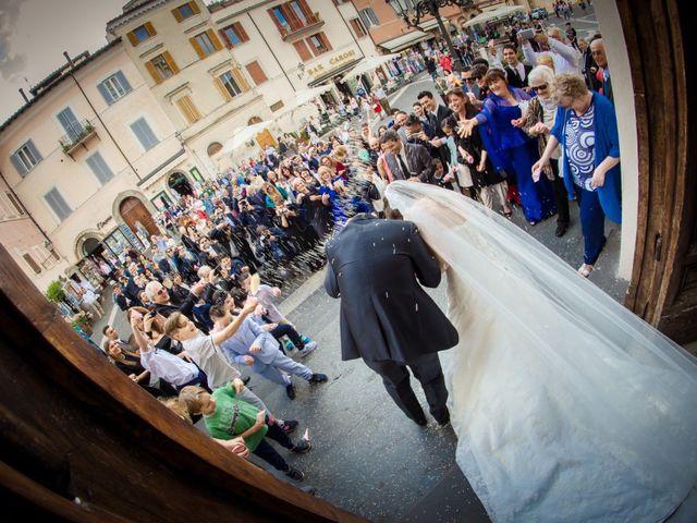 Il matrimonio di Angelo e Silvia a Castel Gandolfo, Roma 30