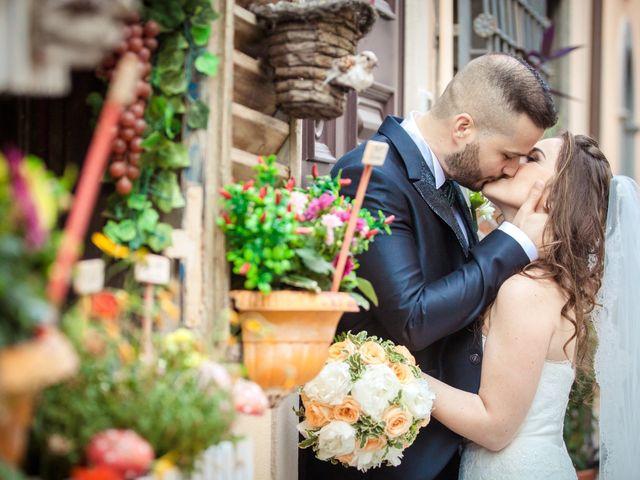 Il matrimonio di Angelo e Silvia a Castel Gandolfo, Roma 35