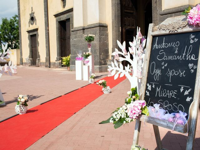 Il matrimonio di Samantha e Antonio a Catania, Catania 16