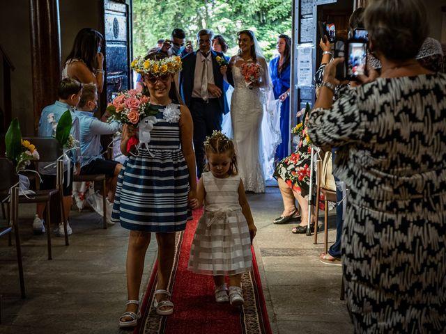 Il matrimonio di Giuseppe e Alessandra a Malgesso, Varese 18