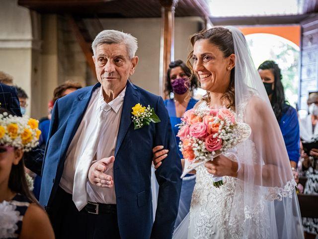 Il matrimonio di Giuseppe e Alessandra a Malgesso, Varese 20