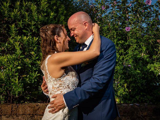 Il matrimonio di Giuseppe e Alessandra a Malgesso, Varese 45