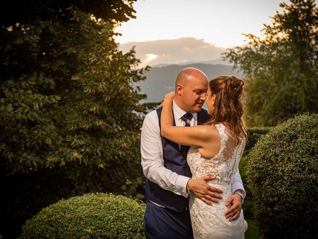 Il matrimonio di Giuseppe e Alessandra a Malgesso, Varese 50
