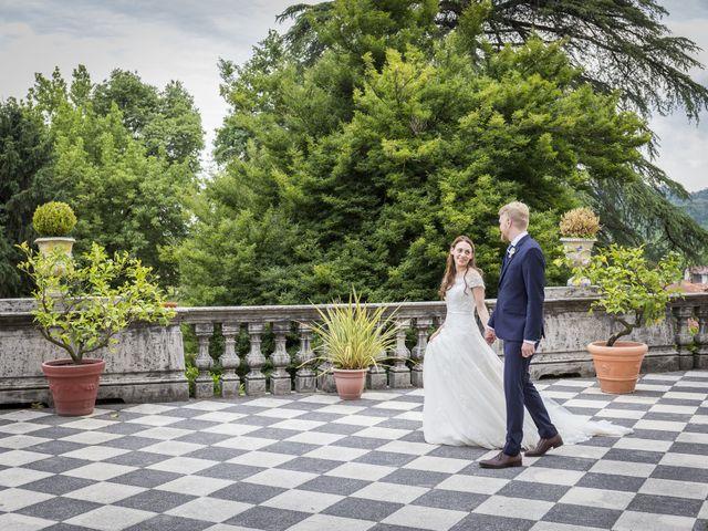 Il matrimonio di Stefania e Henrik a Mercenasco, Torino 2