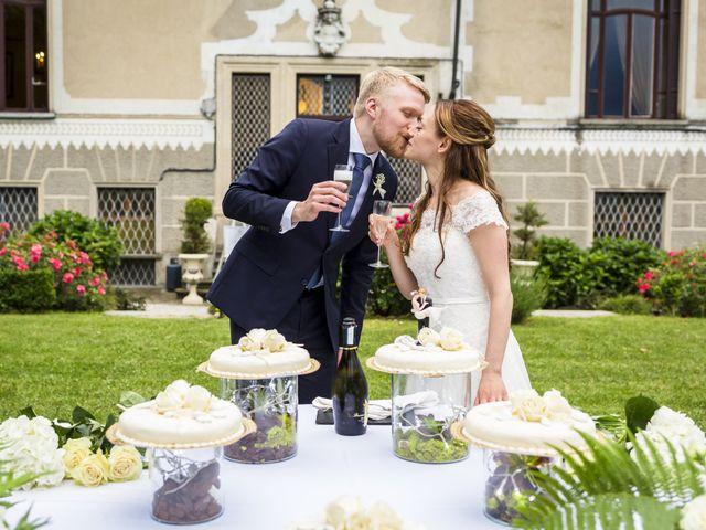 Il matrimonio di Stefania e Henrik a Mercenasco, Torino 16