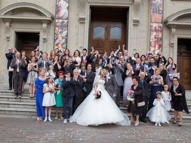 Il matrimonio di Fabio e Beatrice a Saronno, Varese 11