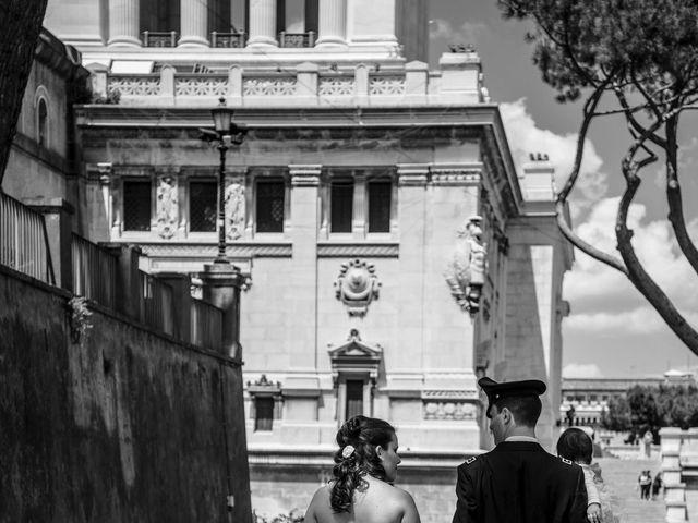 Il matrimonio di Sandro e Aurora a Roma, Roma 1