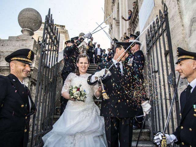 Il matrimonio di Sandro e Aurora a Roma, Roma 34