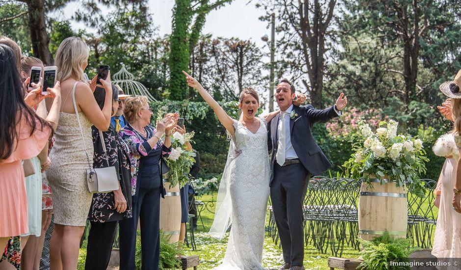 Il matrimonio di Andrea e Cassie a Inveruno, Milano