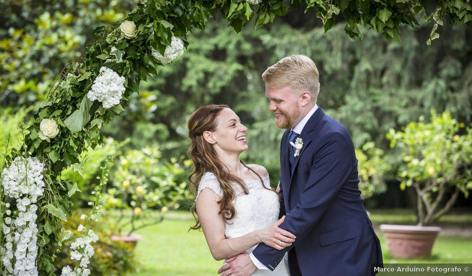 Il matrimonio di Stefania e Henrik a Mercenasco, Torino