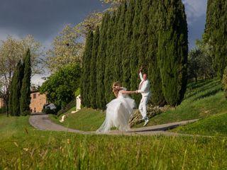 Le nozze di Christina e Michael